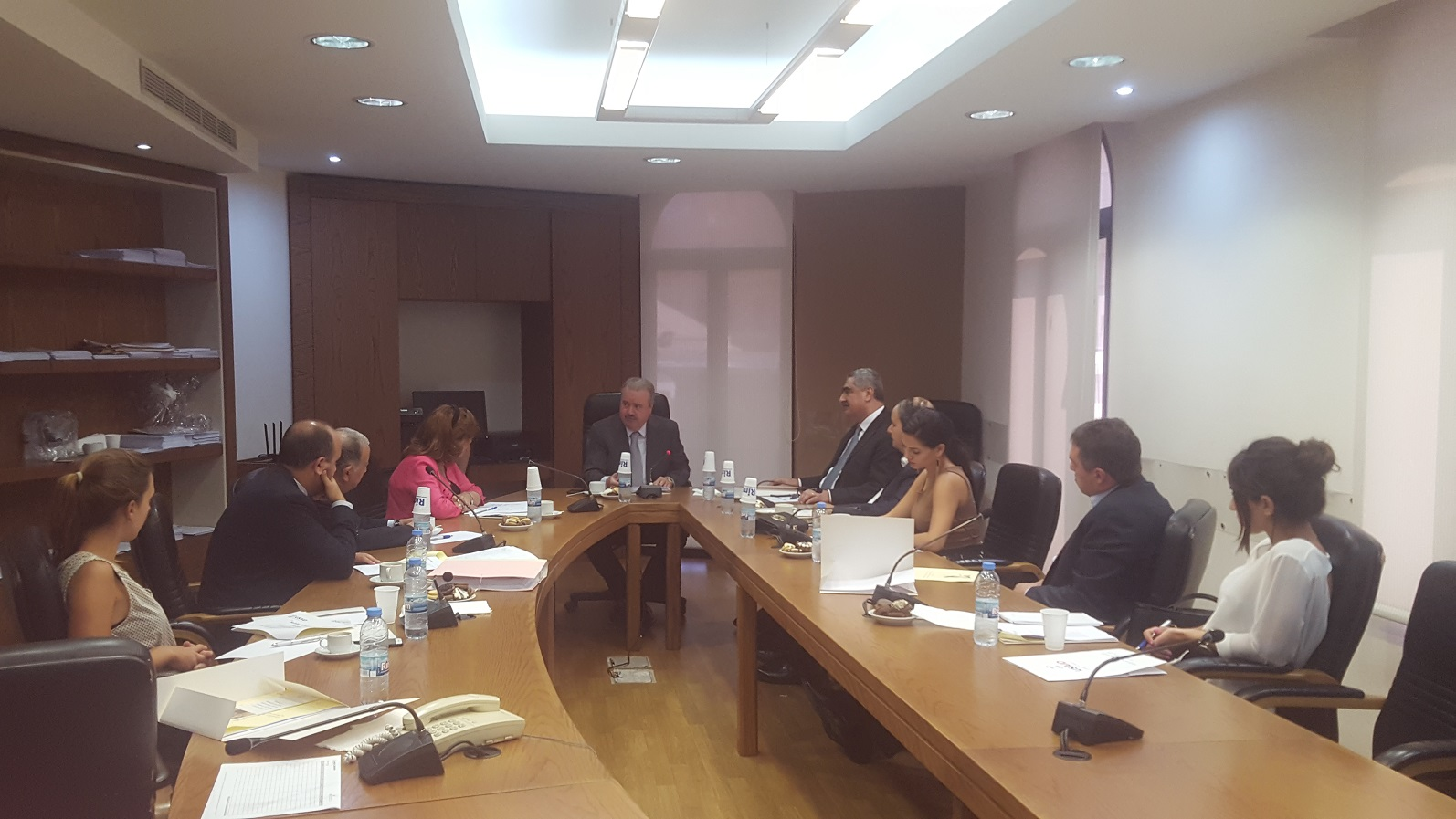 "First Steering Committee Meeting of the Project:""Building the Rule of Law Society"""