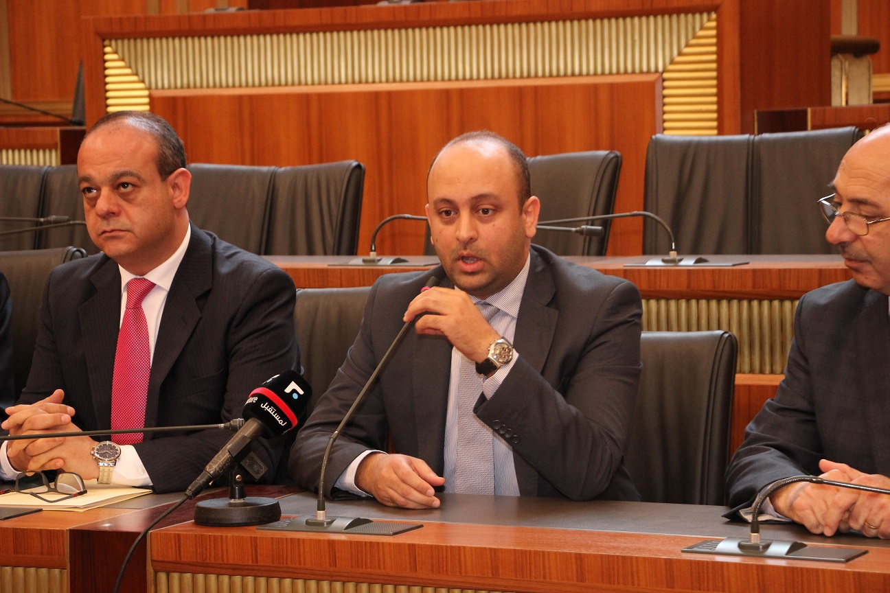 Lebanese Parliament, April 22, 2016