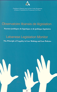 Lebanese Legislation Monitor II